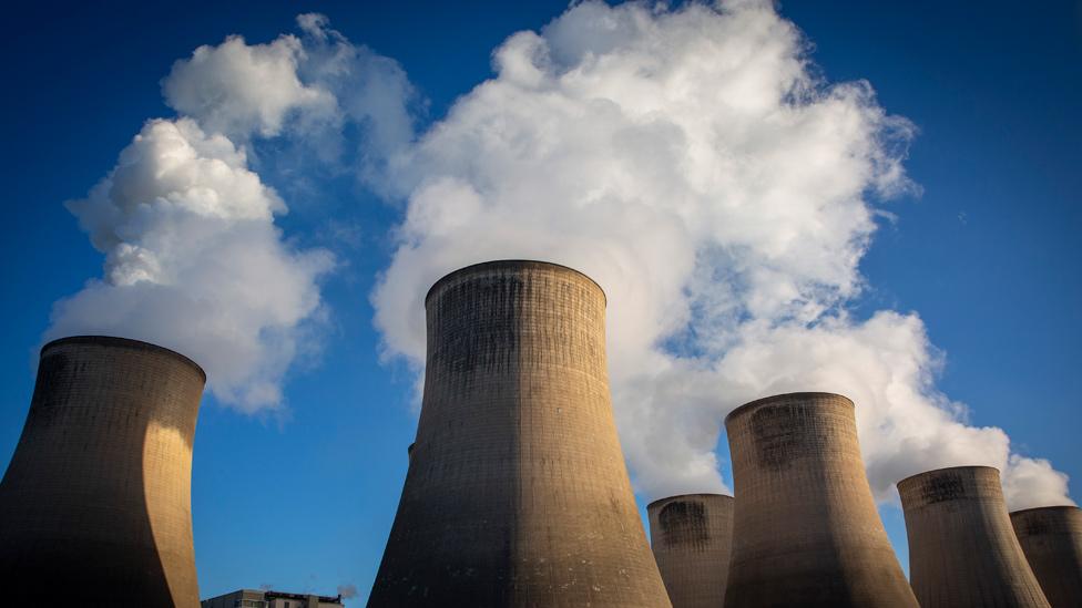 Emisiones de CO2 de plantas a carbón
