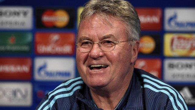 Chelsea's Guus Hiddink