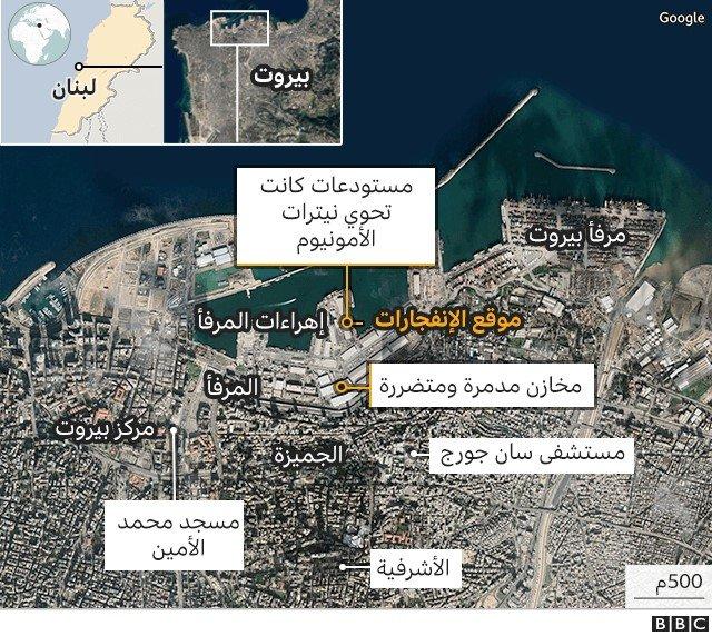 خريطة المرفأ