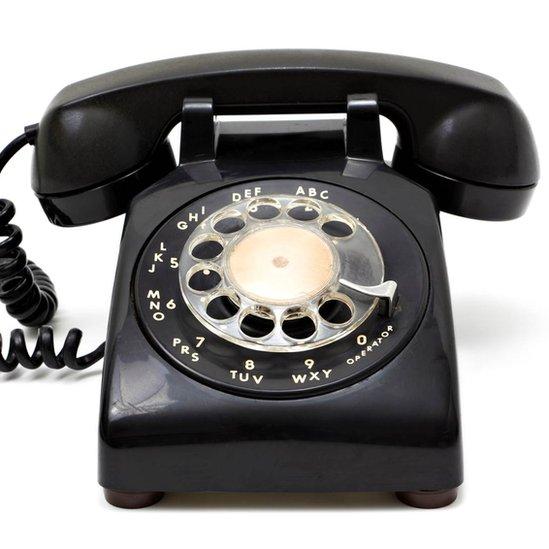 Rotary telephone