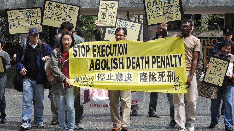 Protesta en China