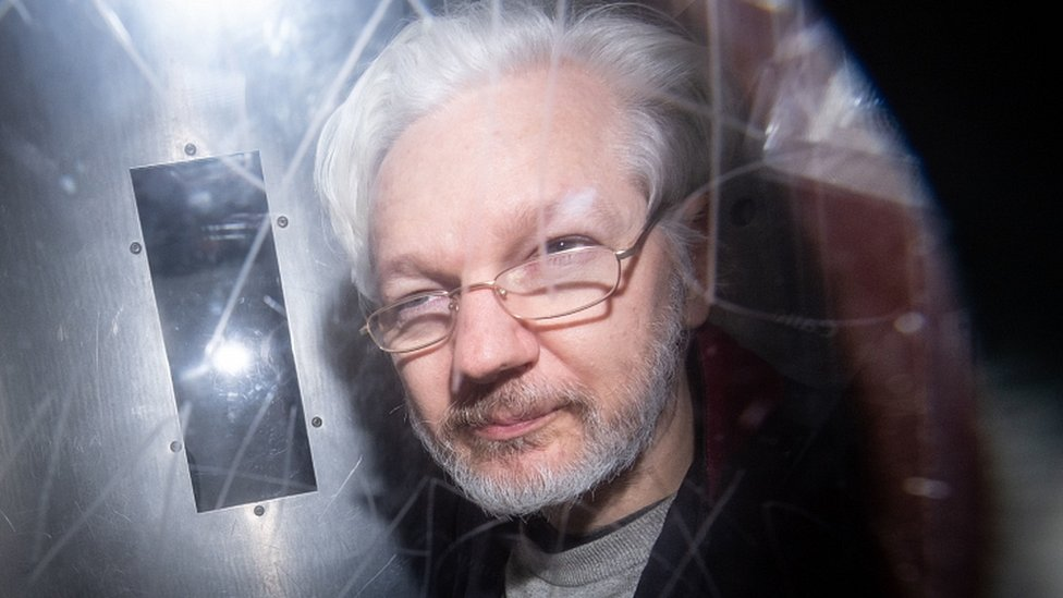 Julian Assange will take his fight against extradition to the Old Bailey on Monday. PA Photo. Issue date: Monday September 7, 2020