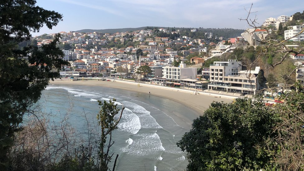 Ulcinj, 14. april 2020.