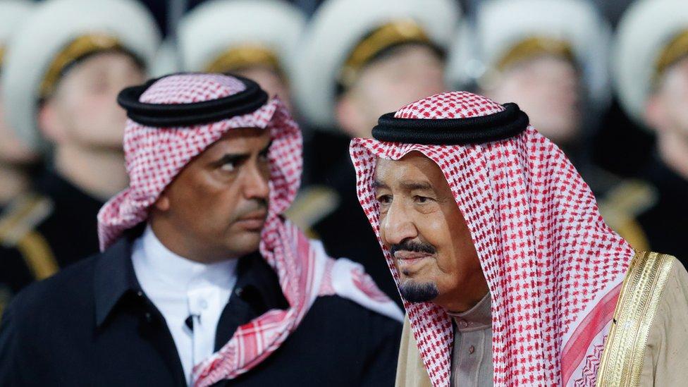 مقتل عبد العزيز الفغم حارس الملك سلمان يتصدر تويتر عالميا