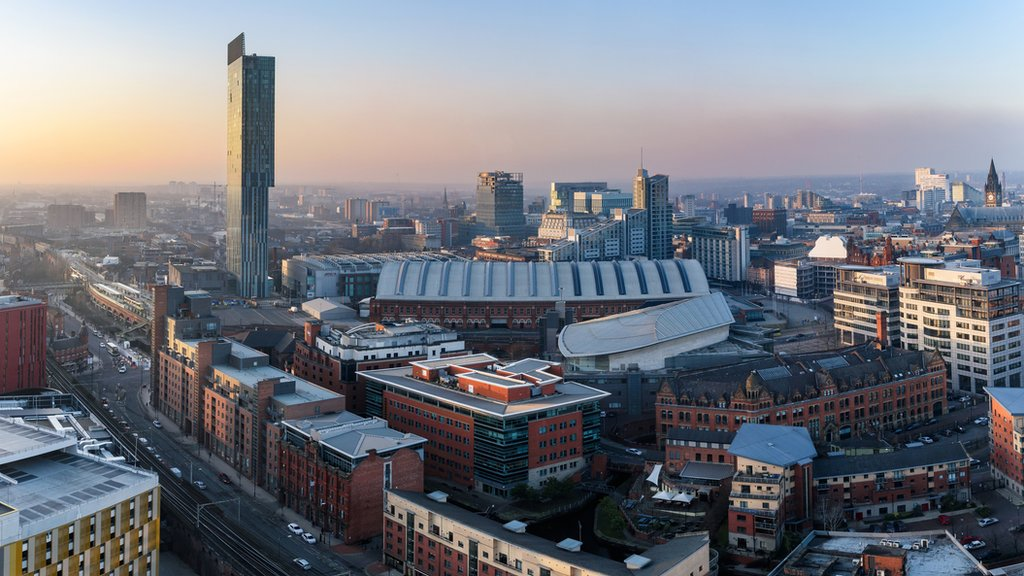 The city of Manchester