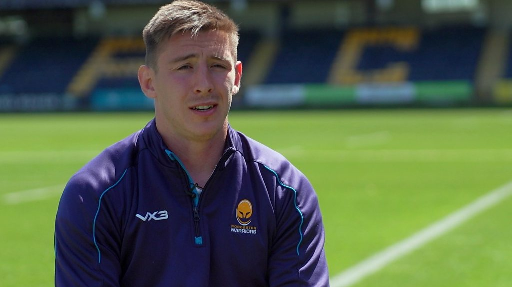 Josh Adams discusses his move from Worcester to Cardiff Blues and Wales' World Cup hopes