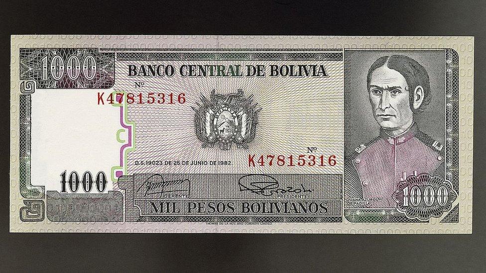 Un billete con el rostro de Juana Azurduy