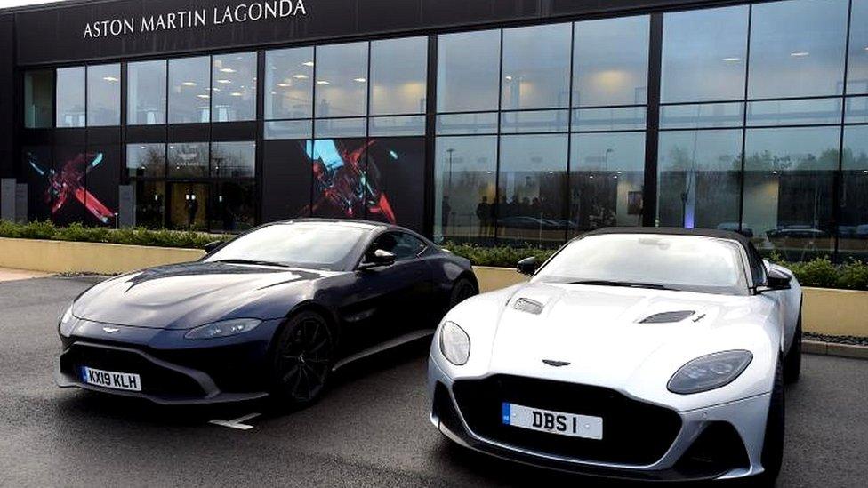 Aston Martin: Mercedes to take 20% stake in luxury brand