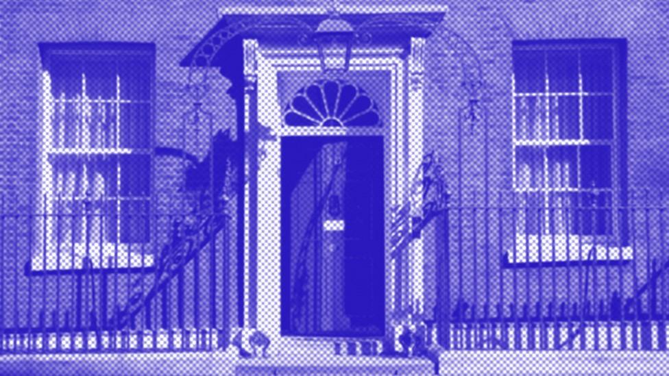 Kantor Perdana Menteri Inggris di Downing Street No.10