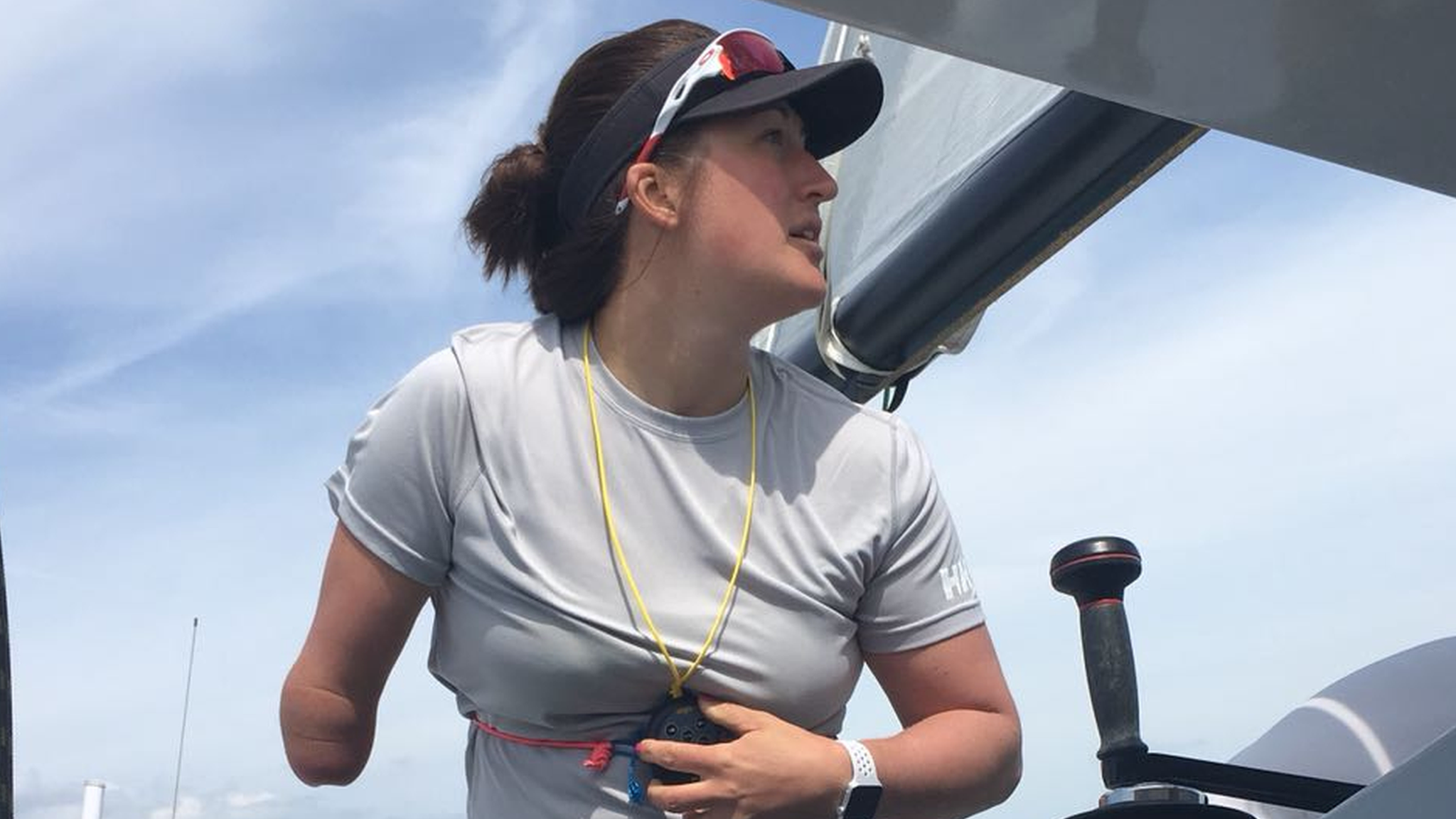 Hannah Stodel: Paralympic sailor on tackling the Vendee Globe and the Round the Island Race