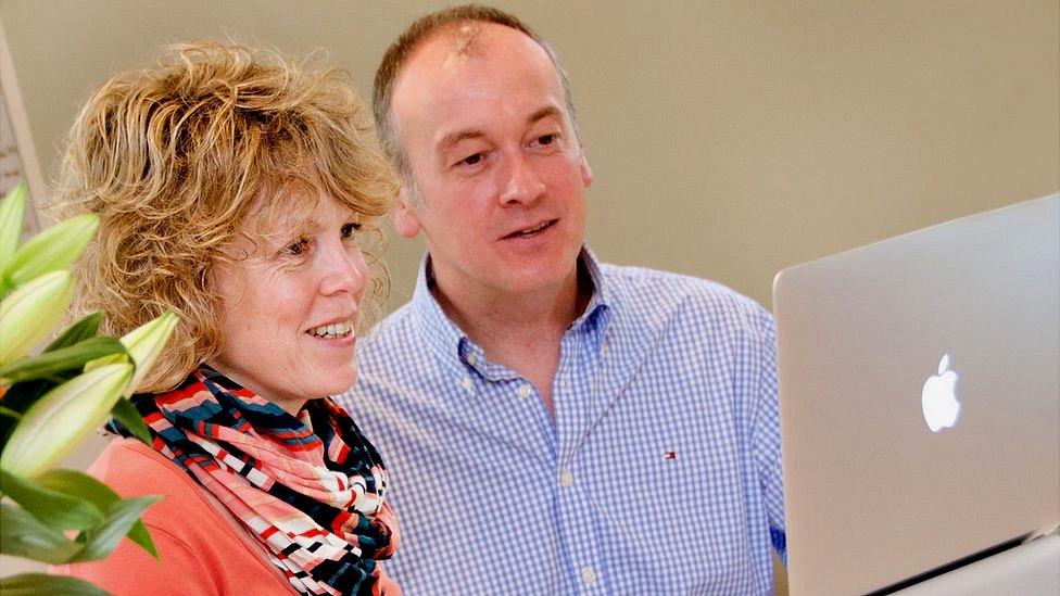 Sarah and Steve Jarvis