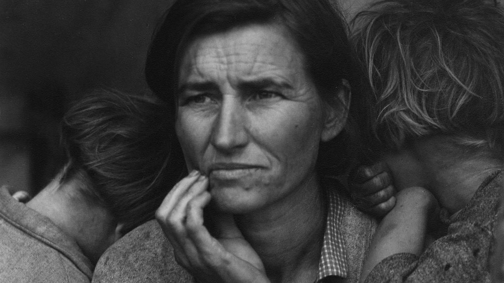 Dorothea Lange: Piercing portraits from US history