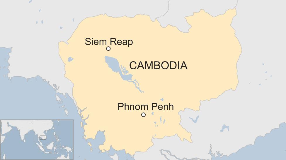 Peta Siem Reap