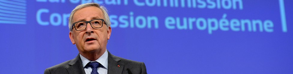 Jean-Claude Juncker, European Commission President (file pic)