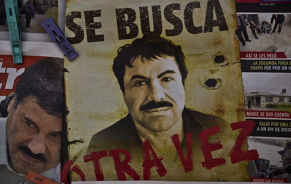 Cartel de El Chapo