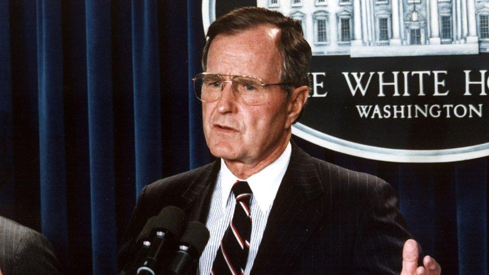 Джордж Буш-старший: президент, який боявся незалежної України