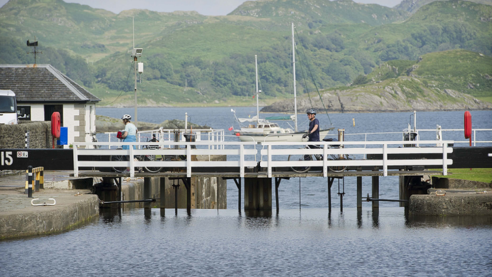 Police recover body of pensioner from Crinan Canal