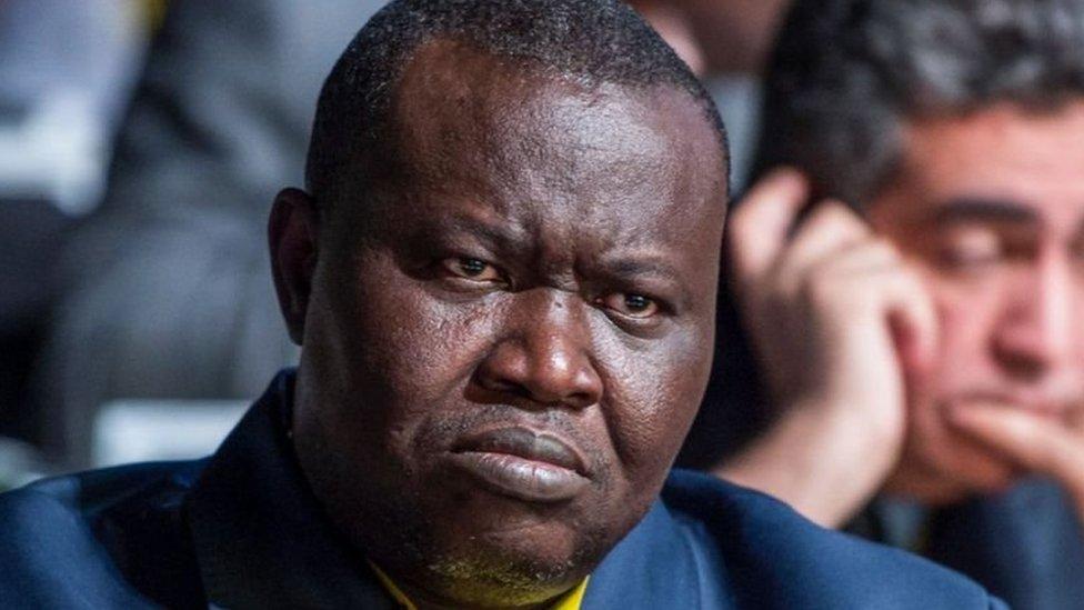 باتريس نغايسونا وصف نفسه بأنه منسق سياسي لأعداء البالاكا