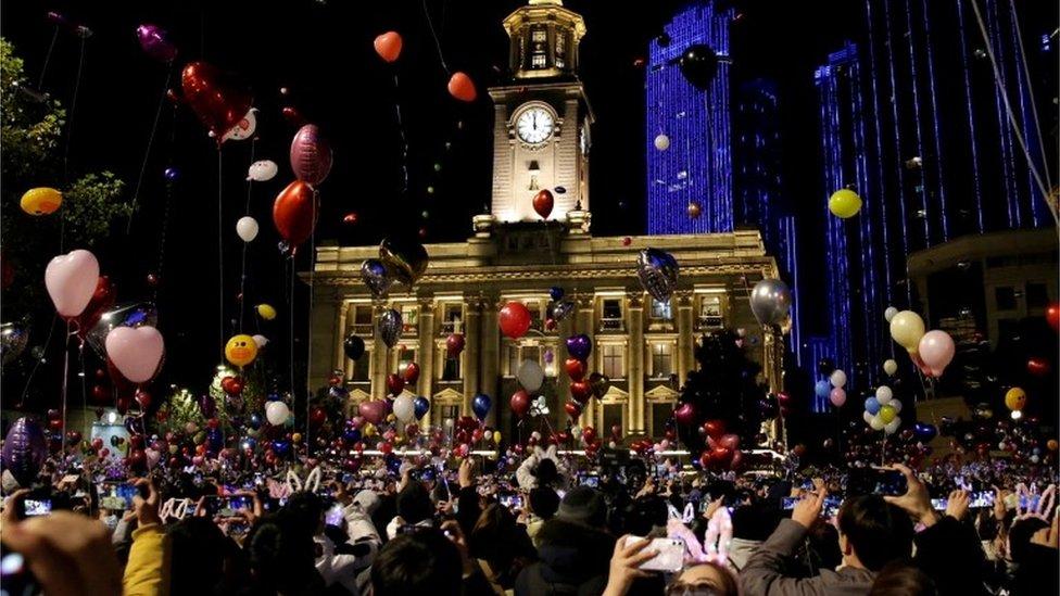 2021年新年前夕的武漢
