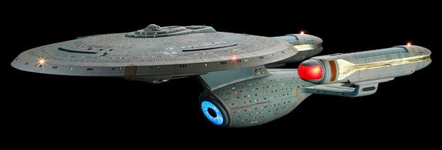 Ambassador-Class Starship Model Miniature from Star Trek: The Next Generation