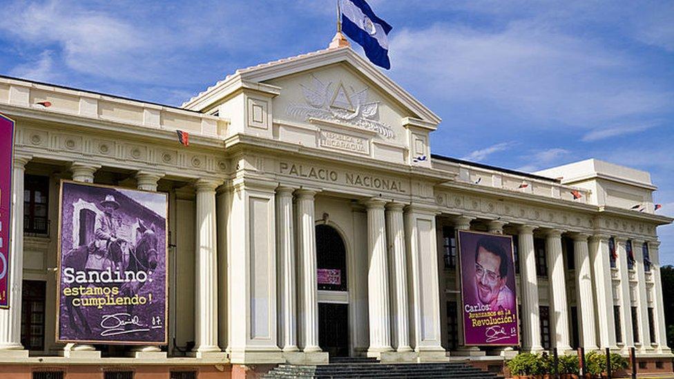 El Palacio Nacional en 2019