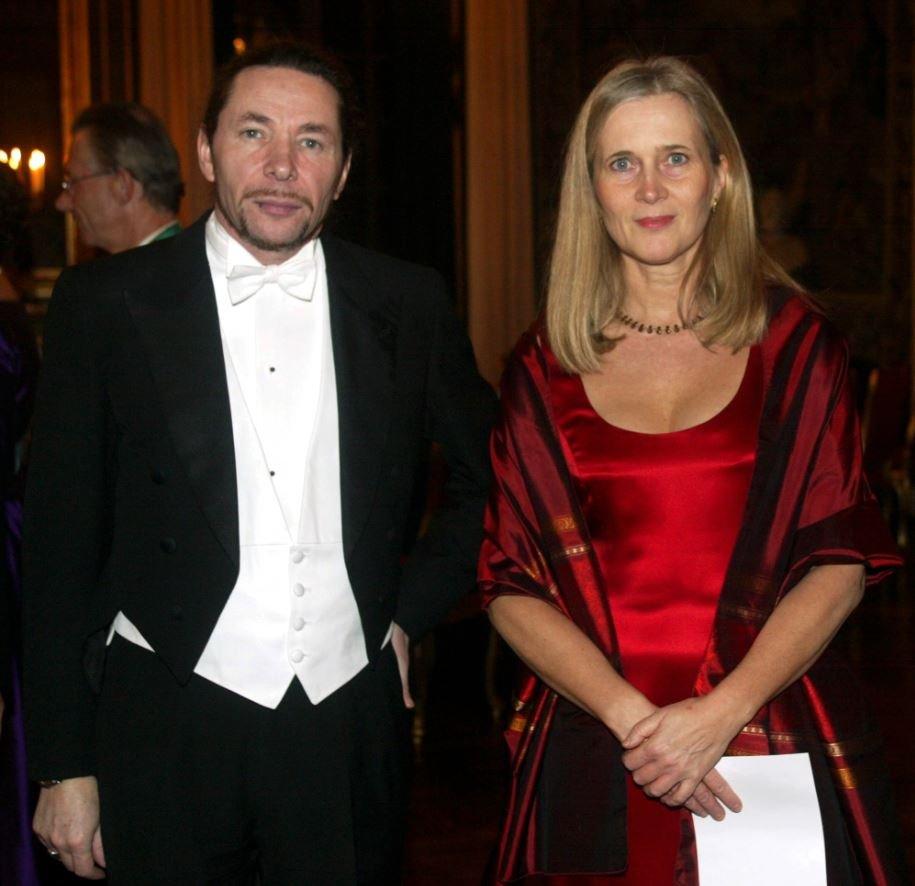 Jean-Claude Arnault y su esposa Katarina Frostenson