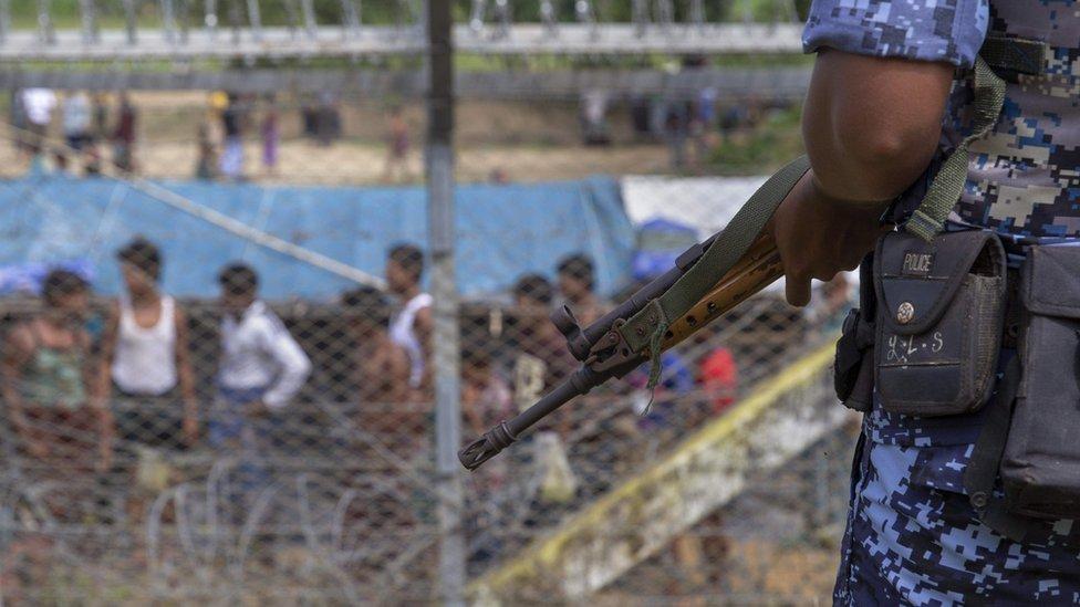 Aparat keamanan Myanmar