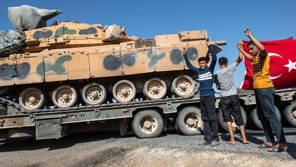 США готовят санкции против Турции из-за вторжения в Сирию