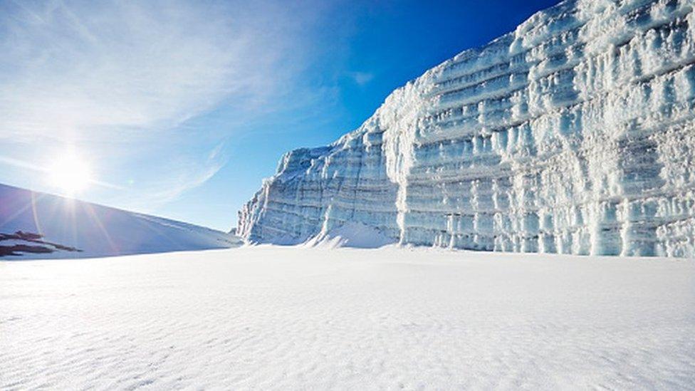 الثلوج المجمدة تخبرنا بالكثير عن الحياة في الماضي