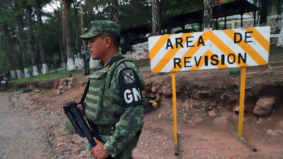 Mexican National Guard in Chiapas State, June 2019