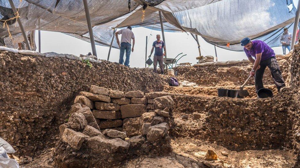 Excavation works