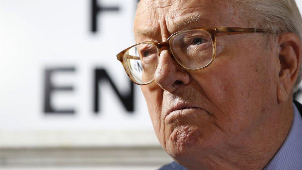 Jean Marie Le Pen 2016