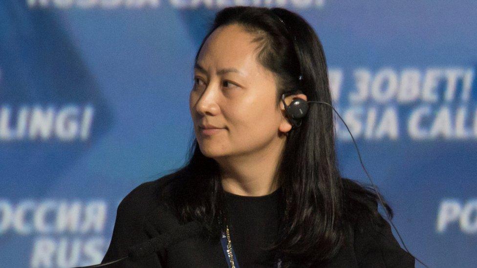 Kepala Keuangan Huewei Meng Wanzhou