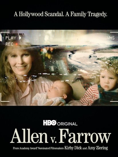 Portada del documental sobre Woody allen y Mia Farrow