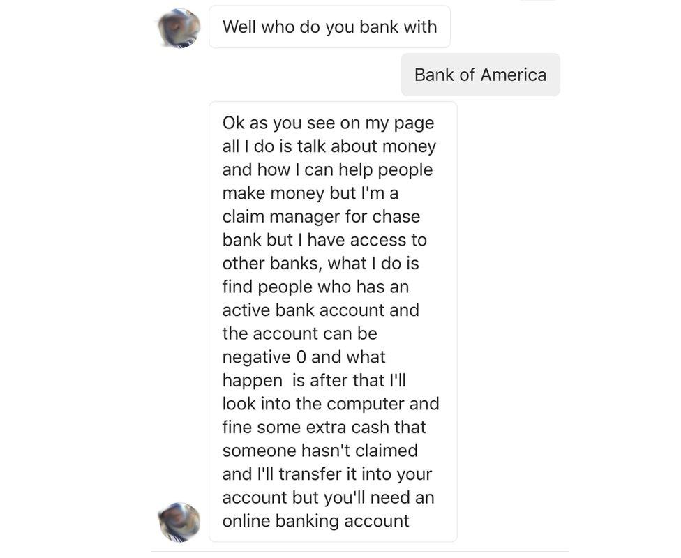 Instagram Scam Preys On Bank Followers Bbc News