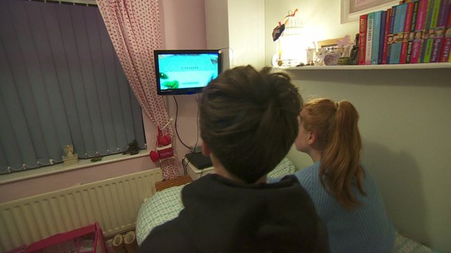Children playing a computer game