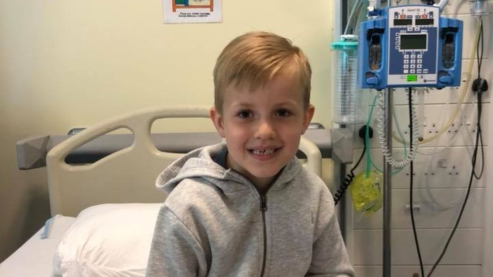 The Newport six-year-old who 'needs a life saver'