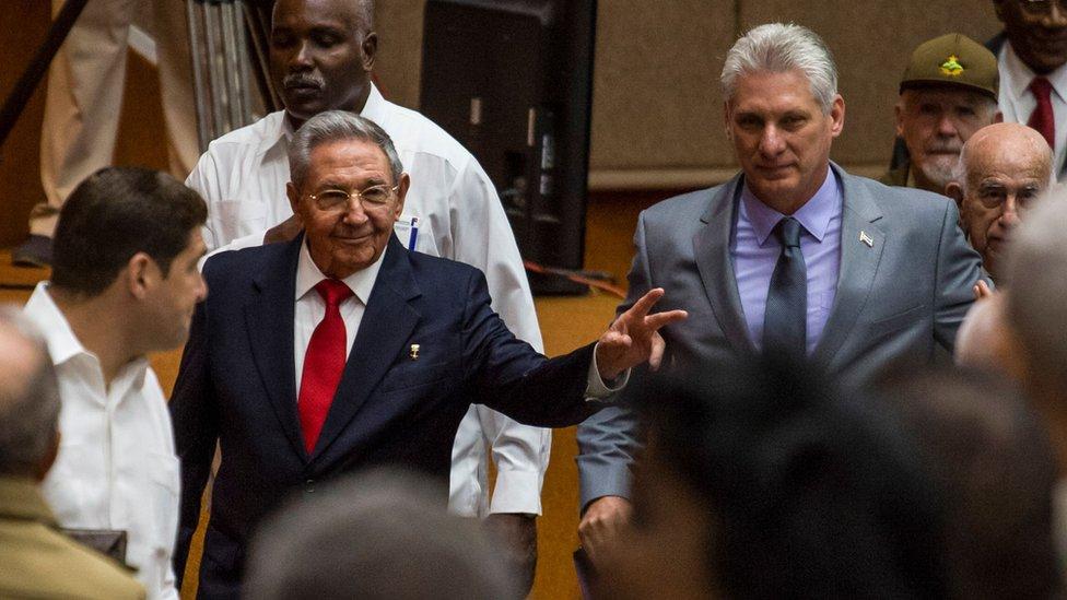 Ral Castro, Miguel Daz-Canel, Kuba
