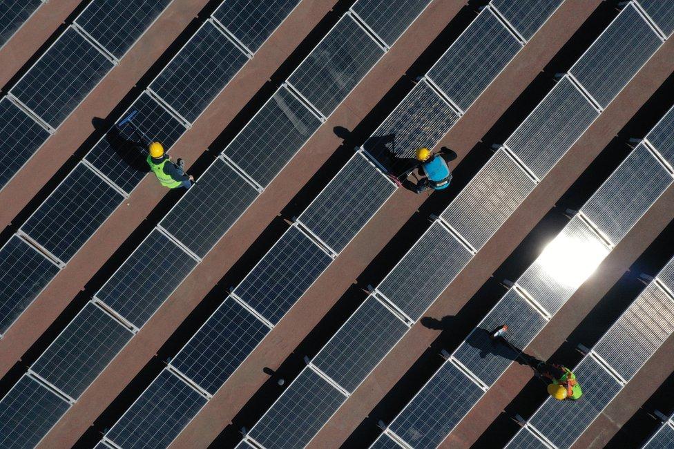 Paneles de energía solar en Turquía