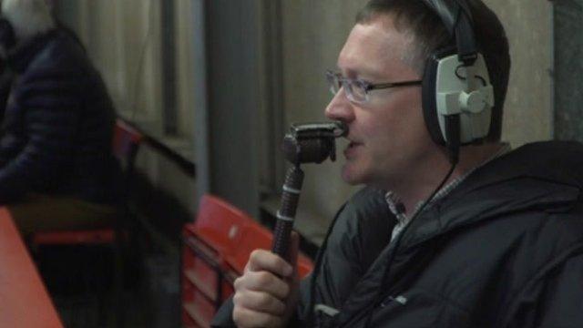 BBC Radio Nottingham commentator Colin Fray