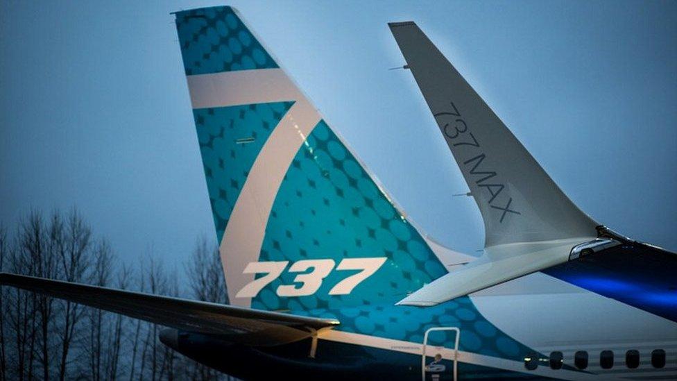 #Boeing737Max विमान दुनियाभर में फ़िलहाल नहीं उड़ेगा
