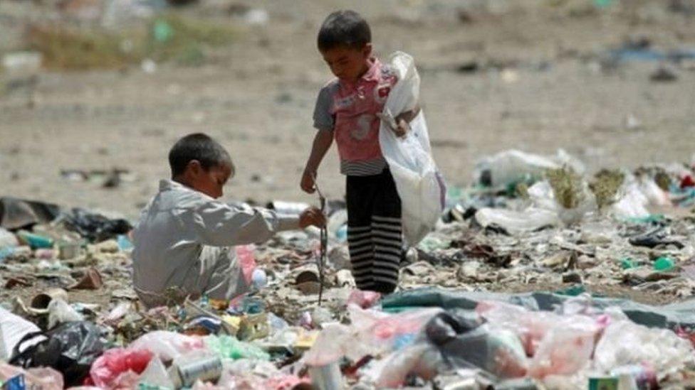 يحتاج 11 مليون طفل يمني لمساعدات إنسانية