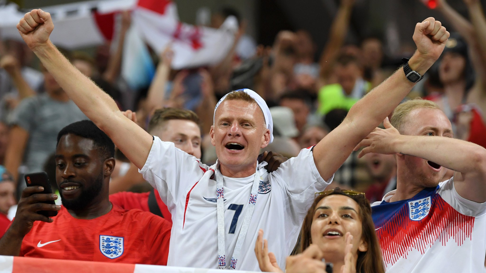 18.3m watched England beat Tunisia; record 3m streamed match