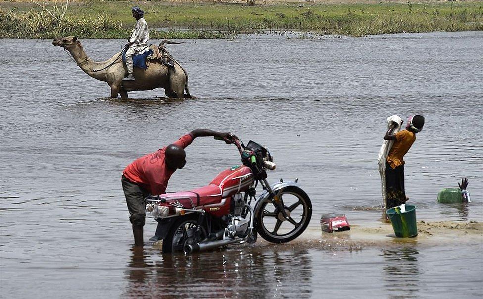 乍得湖一景
