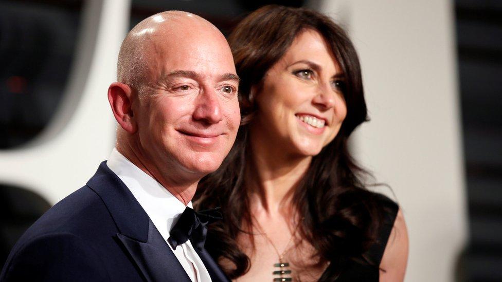 Džef Bezos i njegova bivša supruga Makenzi