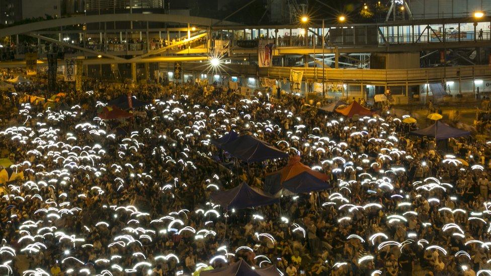 HONG KONG PROTEST 2014