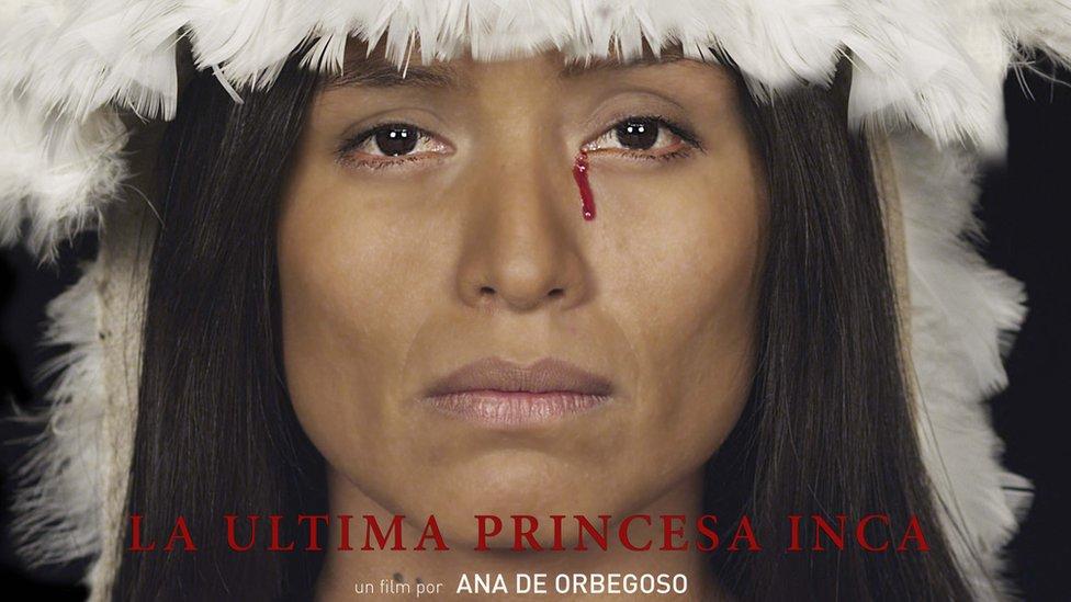 """Captura de pantalla del corto """"La última princesa inca"""""""
