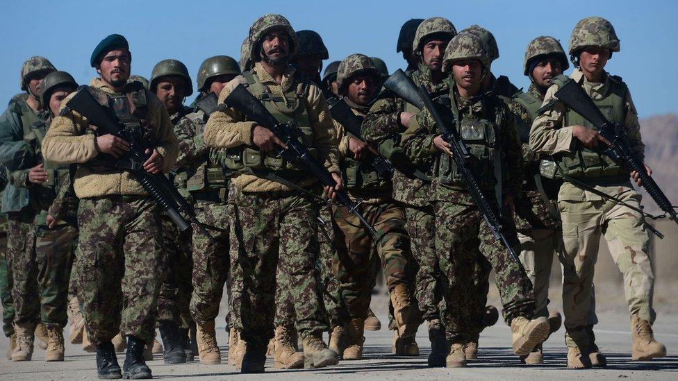 阿富汗政府軍