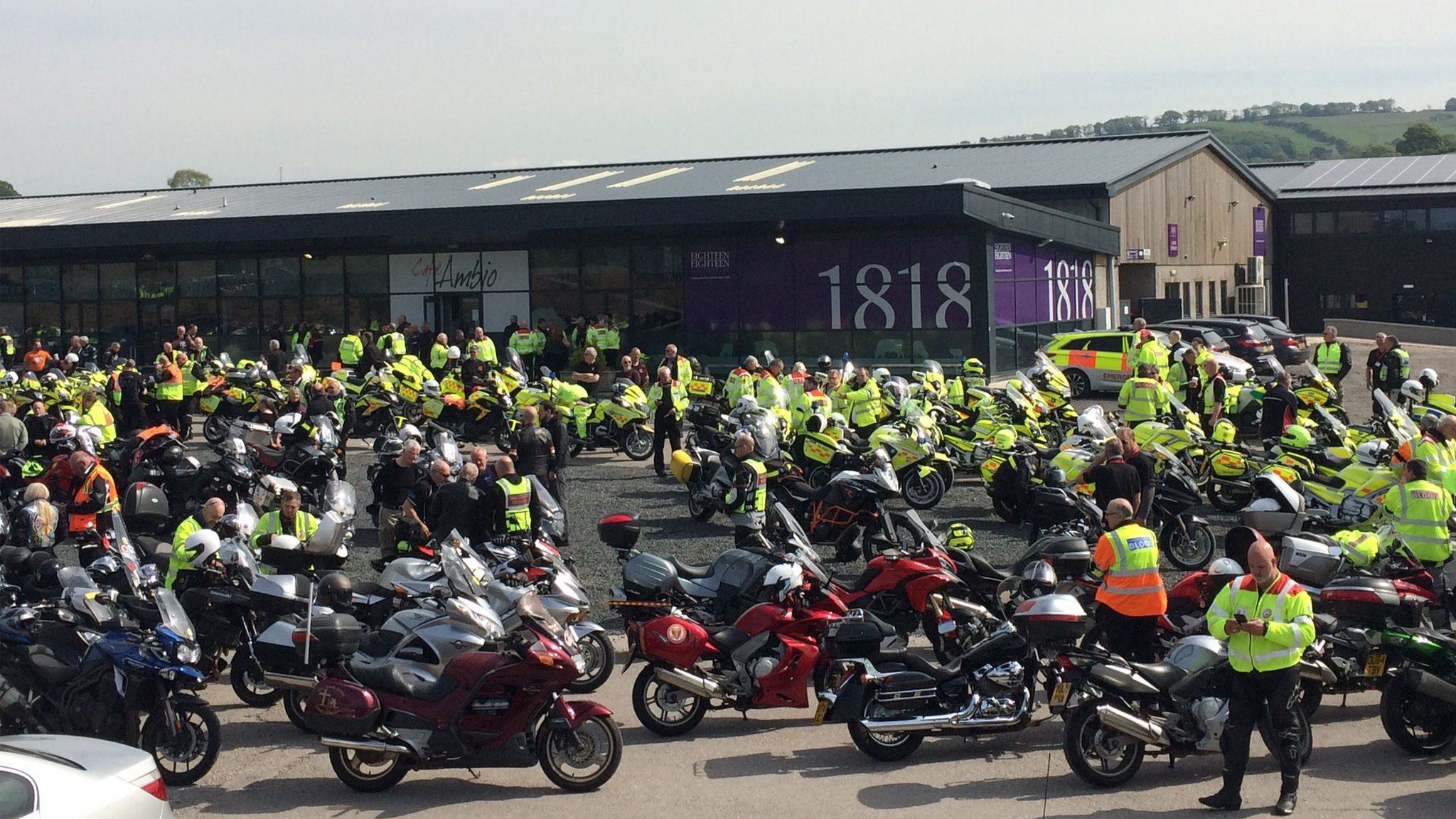 Russell Curwen death: Motorbike convoy for Kendal blood biker funeral