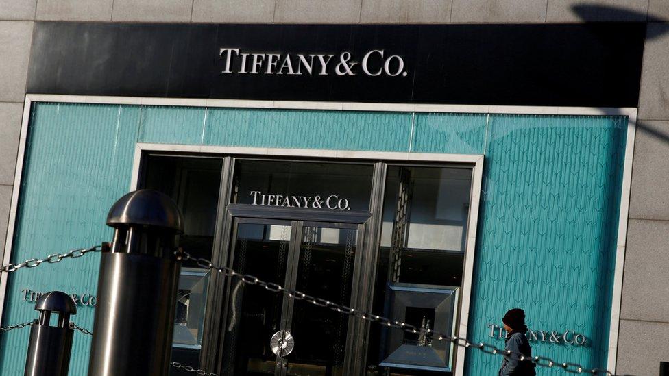 蒂芙尼(Tiffany)在北京的一家商店
